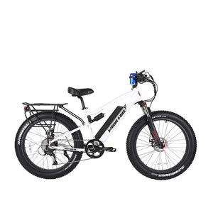 XTreme Rocky Road 48 Volt Fat Tire Electric Mountain Bike - 500W