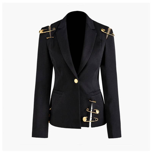 Blazer Vintage Pin Button Blazer