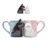 2pcs Cartoon Mug Kiss Cat