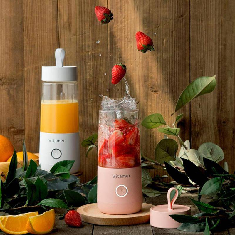 350ml Portable Electric Smoothie Blender USB Rechargeable