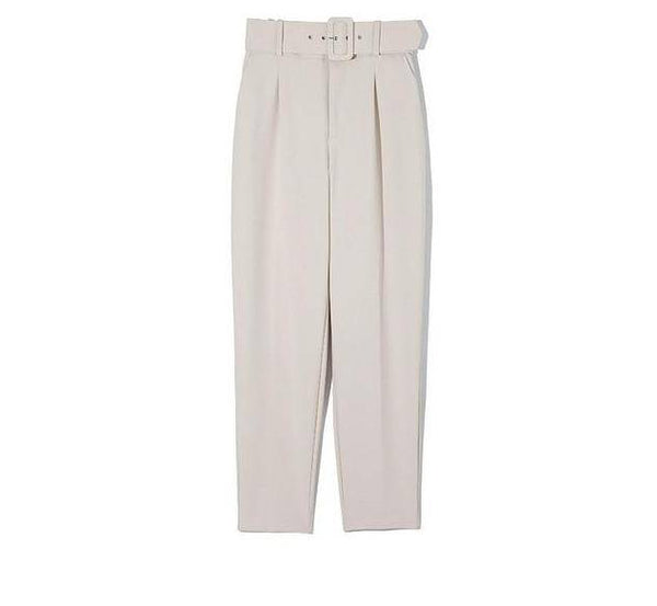 Elegant Formal High Waist Ankle Length Pants