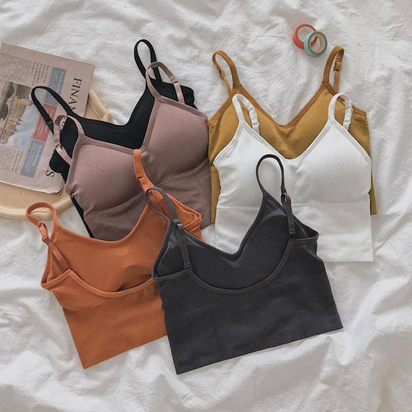 Basic Tank Top Camisole Strappy