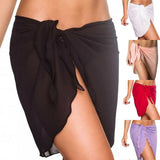 Women Beach Bikini Cover Up Chiffon Skirt Sarong