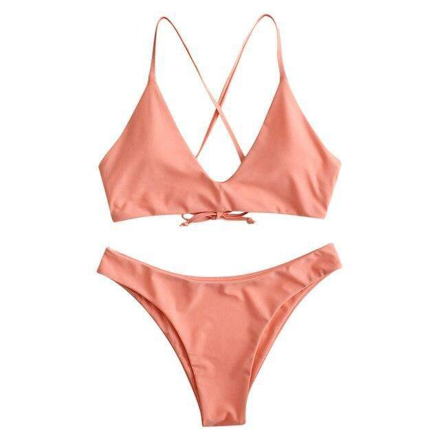 Wire Free Padded Basic Swimsuit