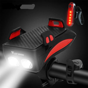 Power Bank & Cycling Flashlight