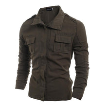 Load image into Gallery viewer, Cotton Blend Mens Fashion Jacket