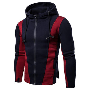 Men's Slim Color Matching Coat