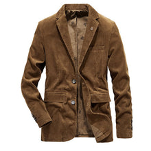 Load image into Gallery viewer, Casual Pure Color Lapel Long Sleeve Blazer