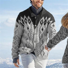 Load image into Gallery viewer, Fashion Men's Color Matching Sweater