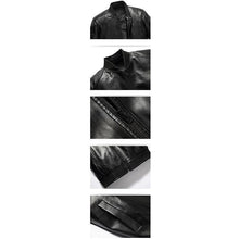 Load image into Gallery viewer, New Fashion Wild Men's Leather Jacket