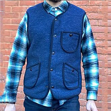 Load image into Gallery viewer, Men's Pocket Stitching Vest