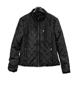 Women's Lightweight Black Rain Jacket