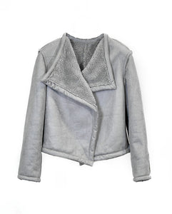 Womens Grey Winter Coat - European Women's Winter Jackets