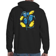 Load image into Gallery viewer, Autumn Bluebell Unisex Hoodie