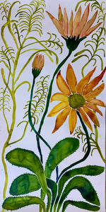 Yellow Daisy 30x60