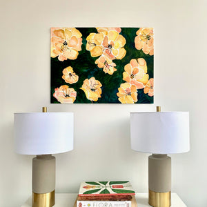 Forest Field Floating Florals 22x30