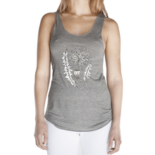 Load image into Gallery viewer, Dandelion Femme Racerback Tank