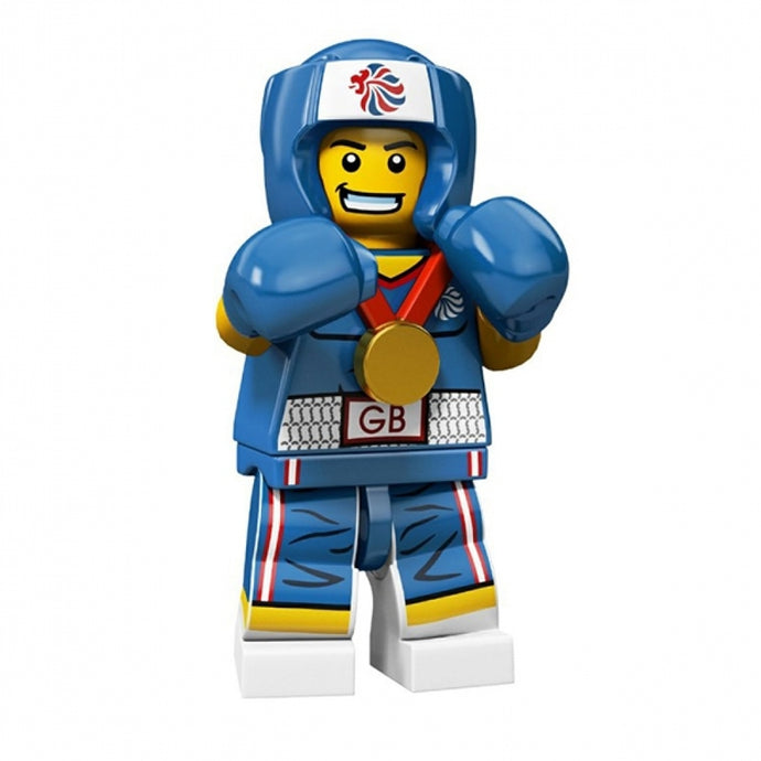 LEGO 8909 Team GB Minifigures Brawny Boxer
