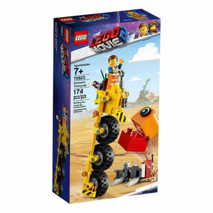 LEGO Movie 70823 Emmets Thricycle Building Set Fuel Station