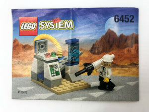 Lego System Classic Space Port Mini Rocket Launcher 100% Complete No: 6452