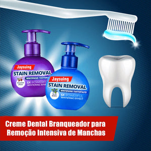 Creme para Clareamento Dental Stain Removal