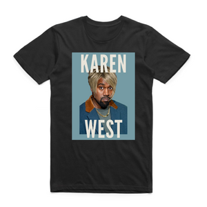 "SLEEZY - ""KAREN WEST TEE"" - [Black]"
