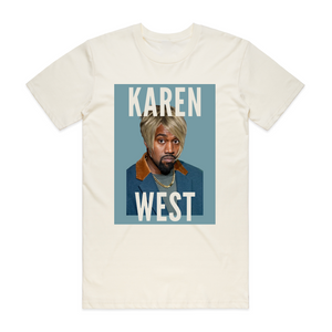 "SLEEZY - ""KAREN WEST TEE"" - [Milk]"