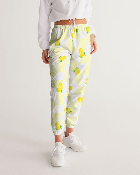 Lemon Checker Women's Track Pants