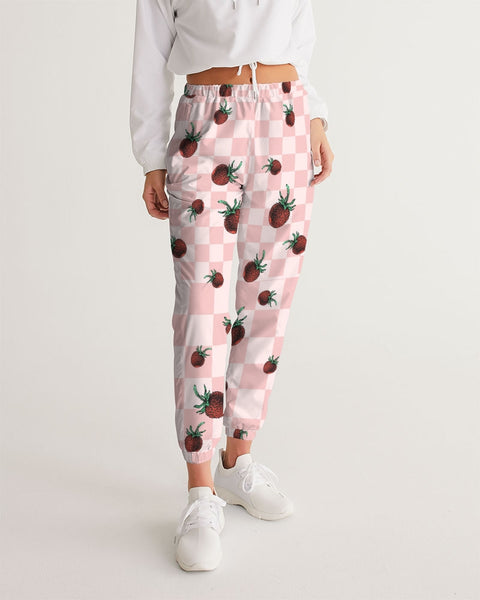 Strawberry Checker Women's Track Pants