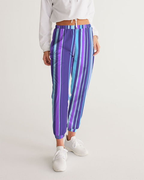 Purple LSD Barcode Women's Track Pants