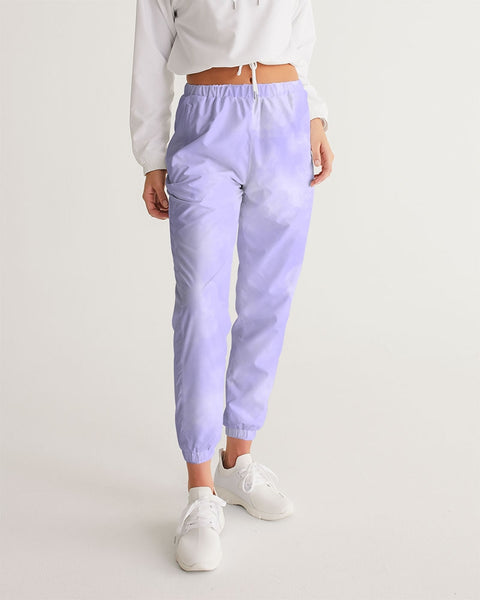 Clouds Pastel Purple Women's Track Pants