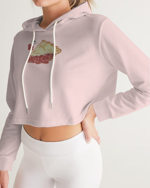 Cherry Pie Women's Cropped Hoodie