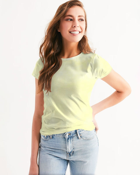 Clouds Pastel Yellow Women's Tee