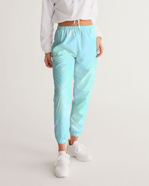 Clouds Pastel Blue Women's Track Pants