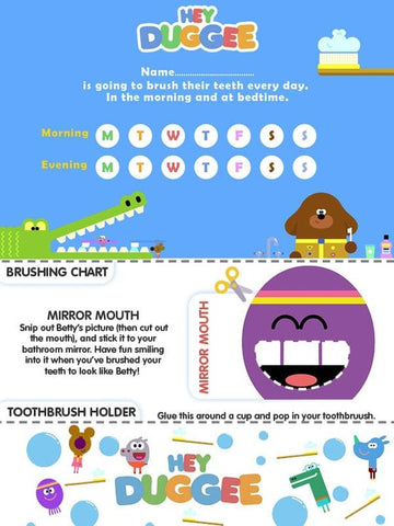 Hey Duggee Toothbrush Song