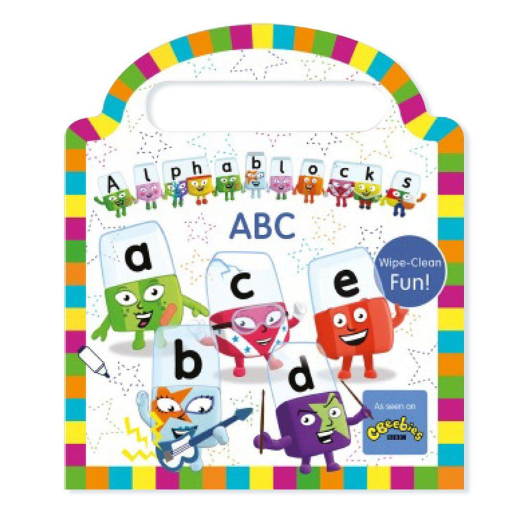 Alphablocks Wipe Clean Book Book Sweet Cherry Publishing