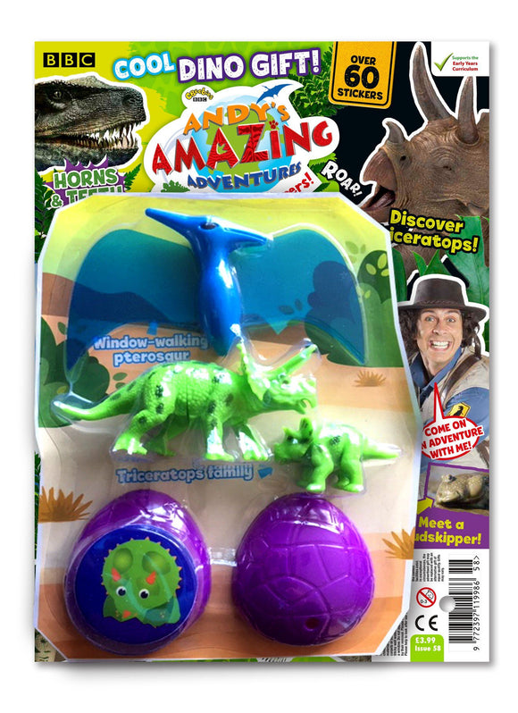 Andy's Amazing Adventures - Issue 58 magazine 5 Minute Fun Shop
