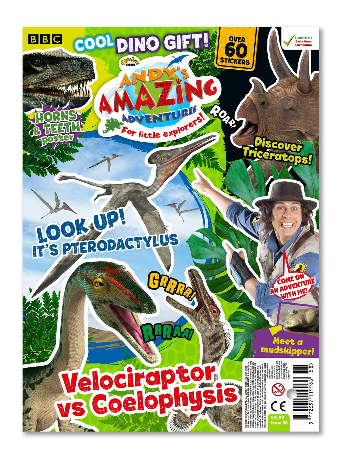 Andy's Amazing Adventures - Issue 58 Ungifted Magazine 5 Minute Fun Shop