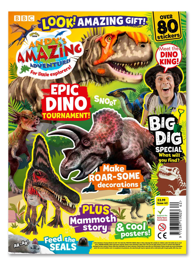 Andy's Amazing Adventures - Issue 62 Ungifted Magazine 5 Minute Fun Shop