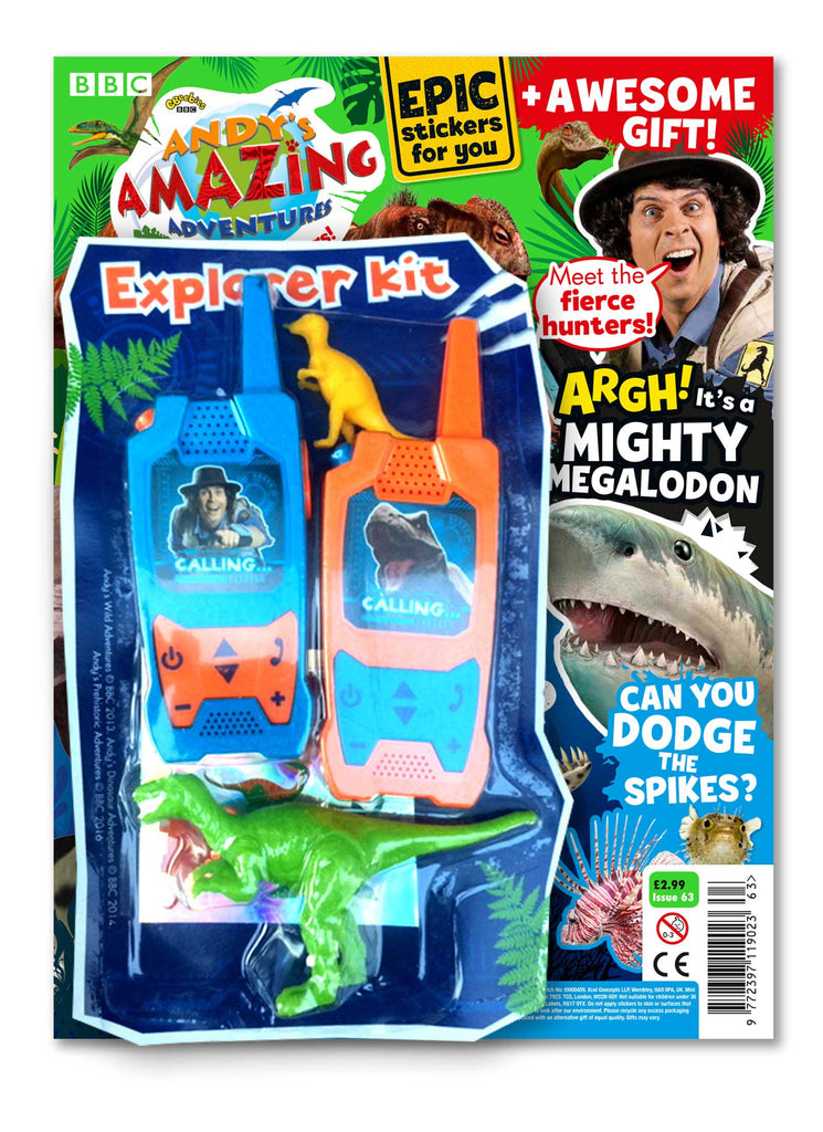 Andy's Amazing Adventures - Issue 63 magazine 5 Minute Fun Shop