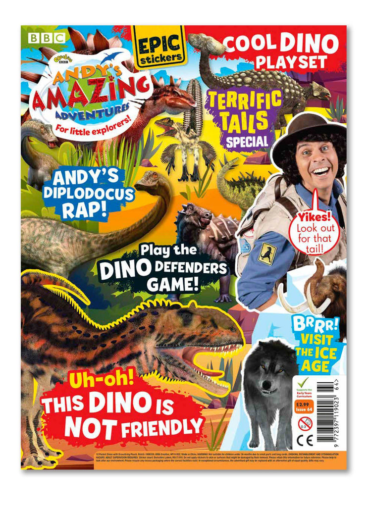Andy's Amazing Adventures - Issue 64 Ungifted Magazine 5 Minute Fun Shop