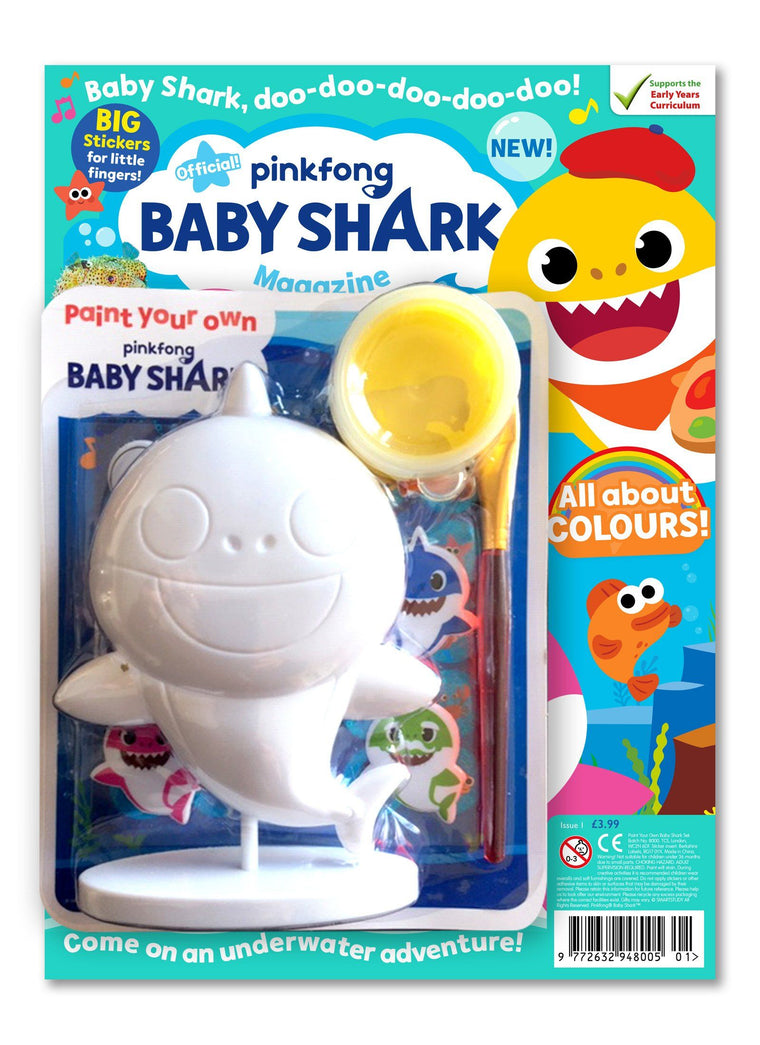 Baby Shark Magazine - Issue 1 Magazine IMC New Stock