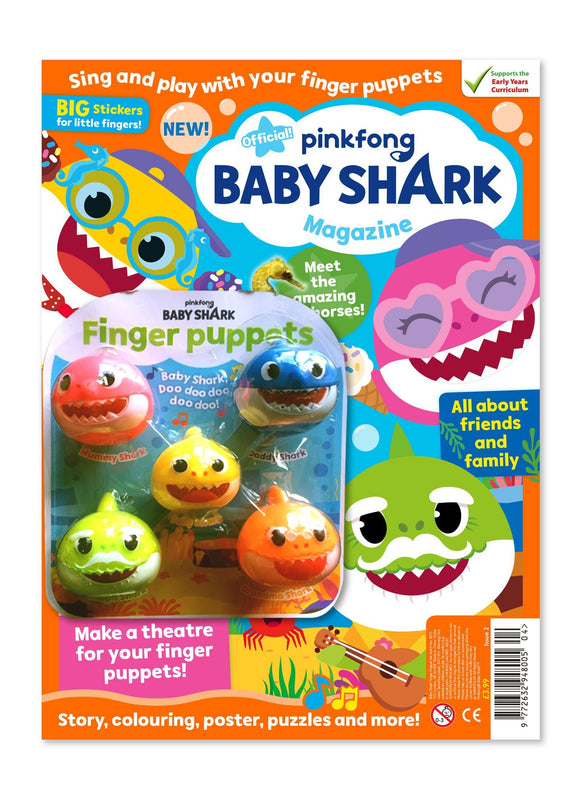 Baby Shark Magazine - Issue 2 Magazine IMC New Stock