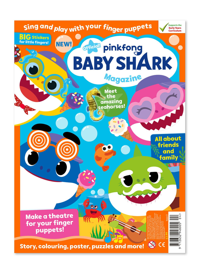 Baby Shark Magazine - Issue 2 - Ungifted Magazine IMC New Stock