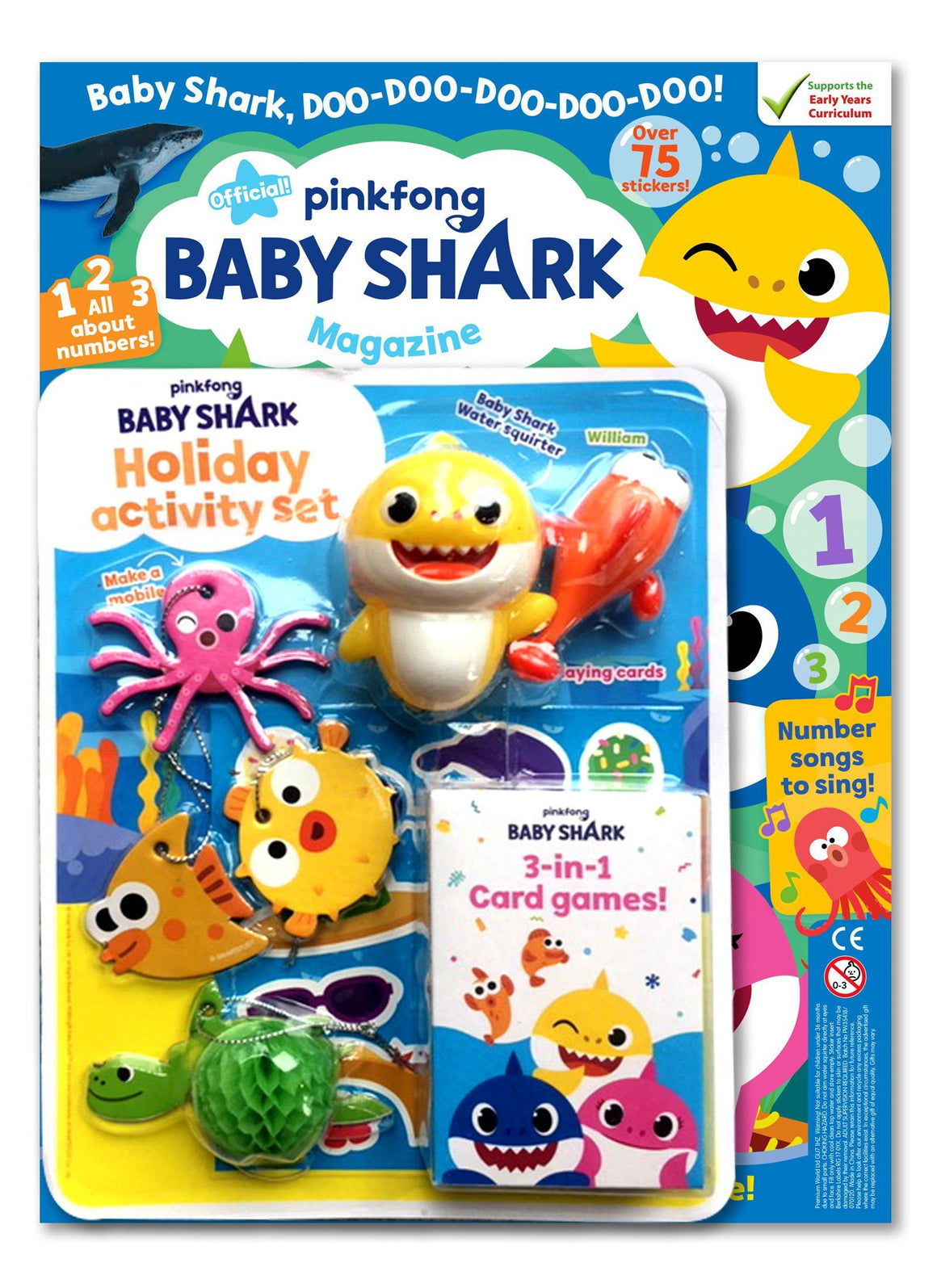 Baby Shark Magazine - Issue 3 Magazine IMC New Stock