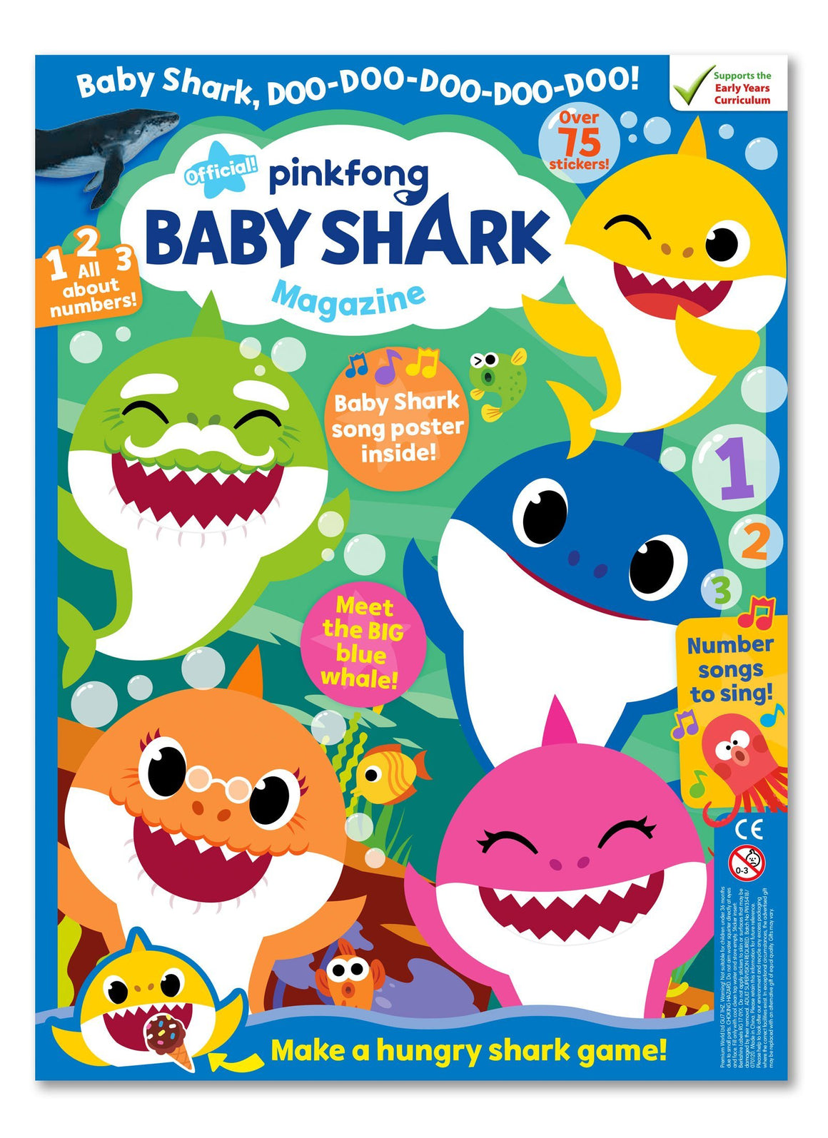 Baby Shark Magazine - Issue 3 - Ungifted Magazine IMC New Stock