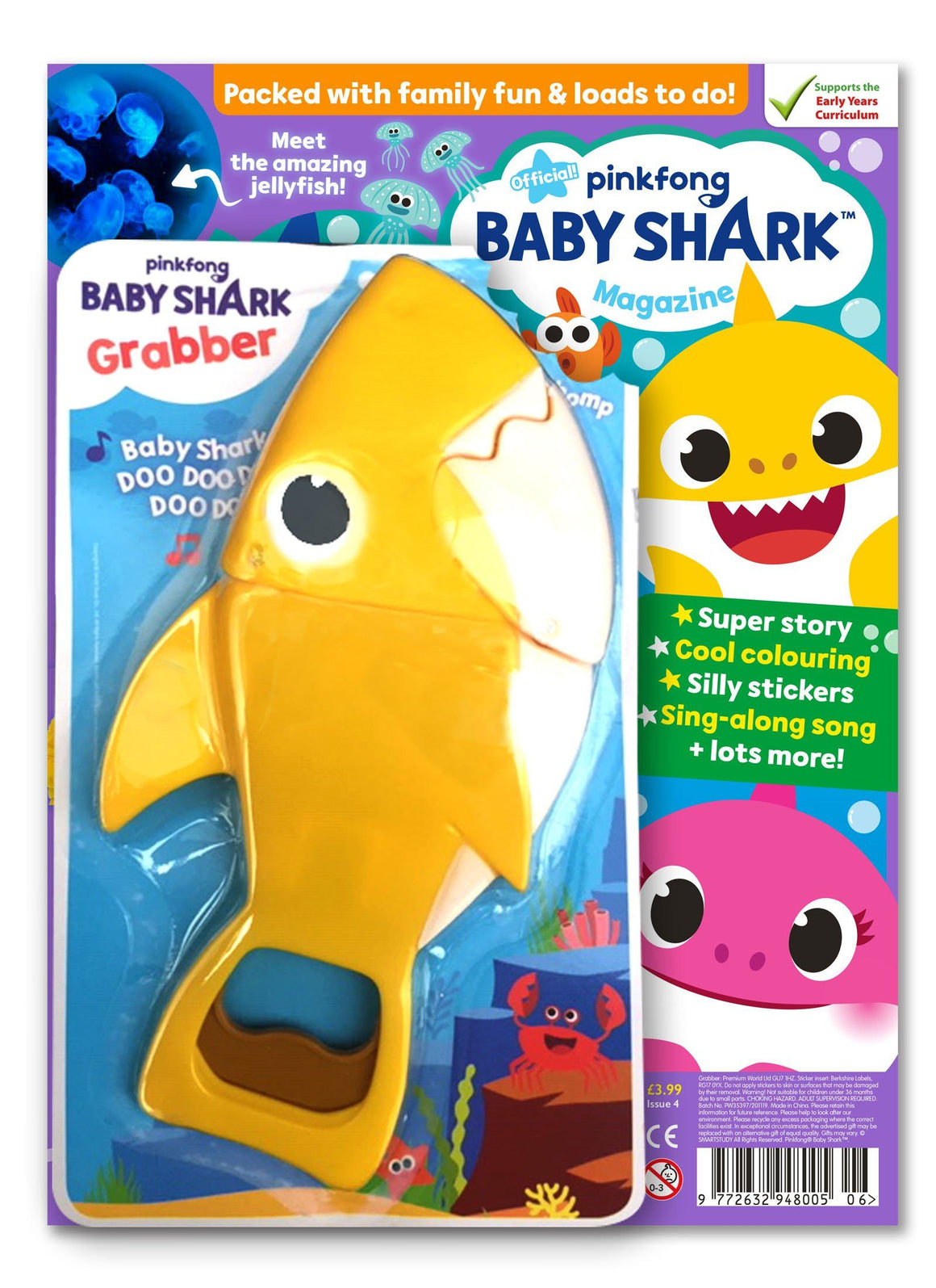 Baby Shark Magazine - Issue 4 Magazine IMC New Stock