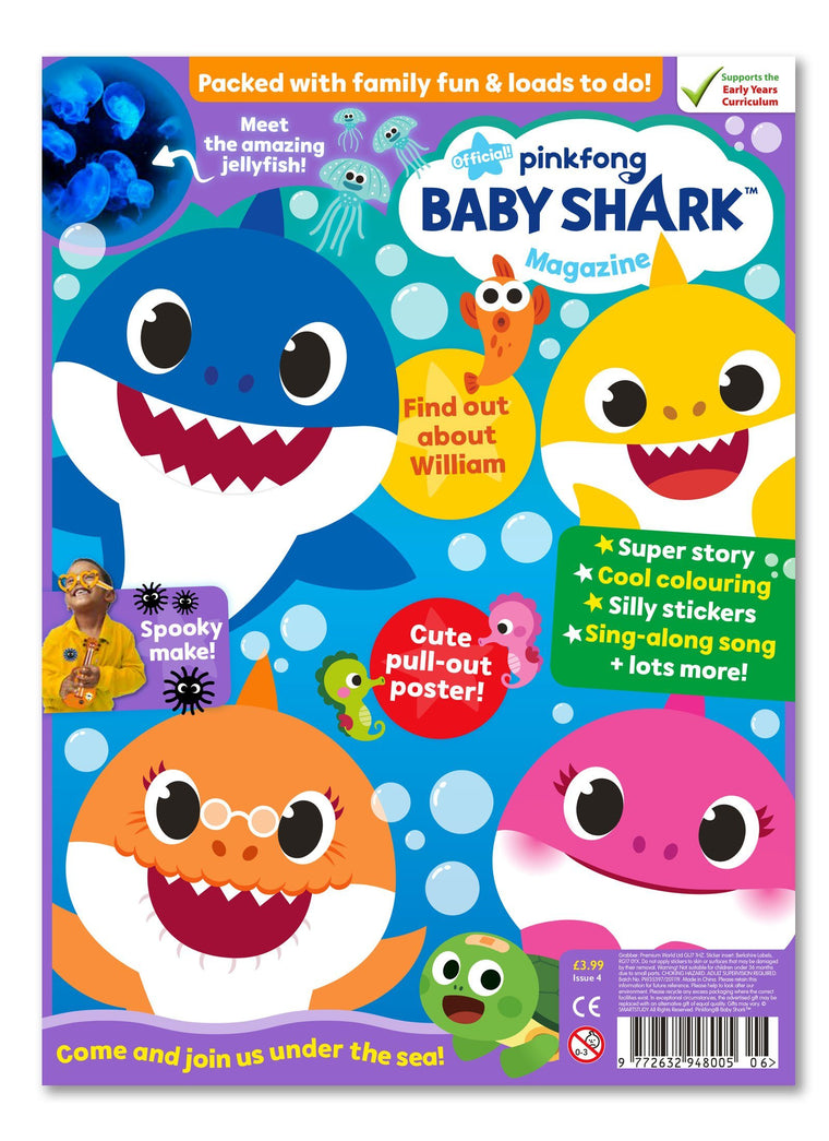 Baby Shark Magazine - Issue 4 - Ungifted Magazine IMC New Stock