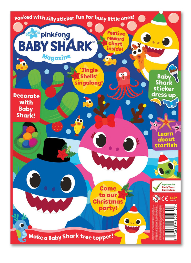 Baby Shark Magazine - Issue 5 - Ungifted Magazine IMC New Stock