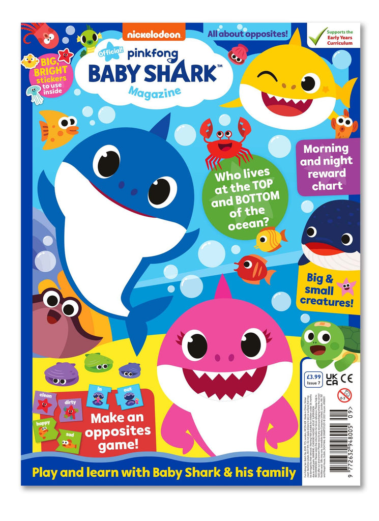 Baby Shark Magazine - Issue 7 - Ungifted Magazine IMC New Stock